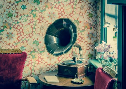 An old gramophone